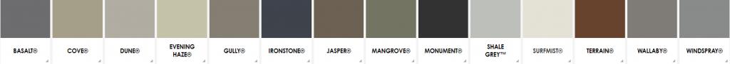 colorbond colours installer melbourne